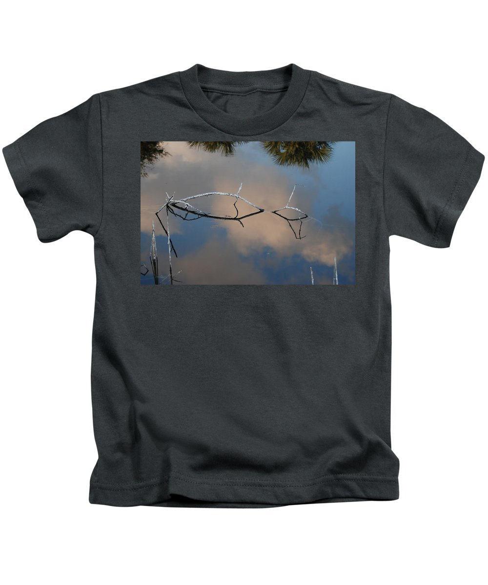 Pink Kids T-Shirt featuring the photograph Natures Bridge In Color by Rob Hans