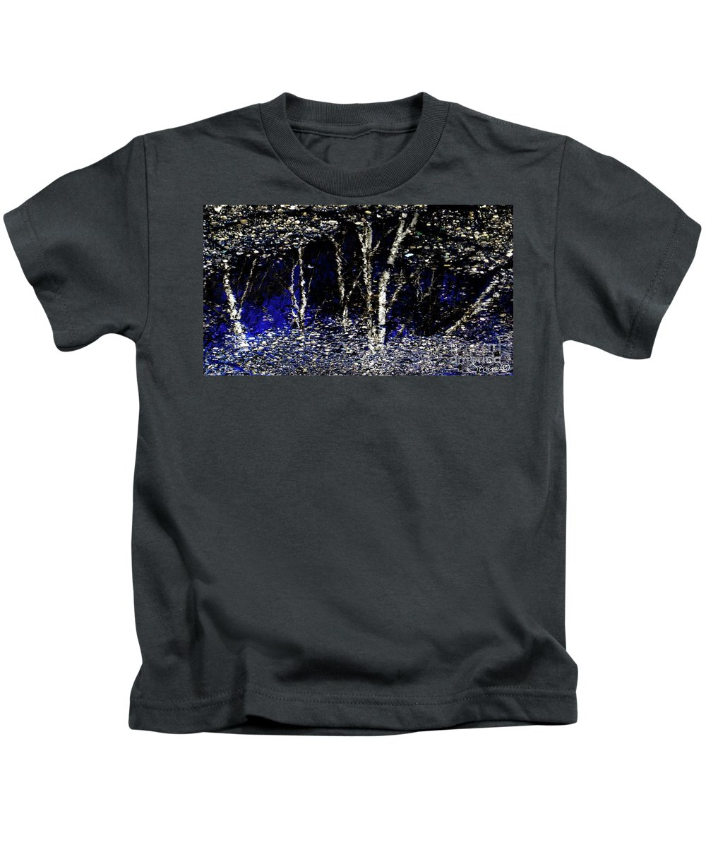Tree Kids T-Shirt featuring the photograph Natures Looking Glass 5 by September Stone