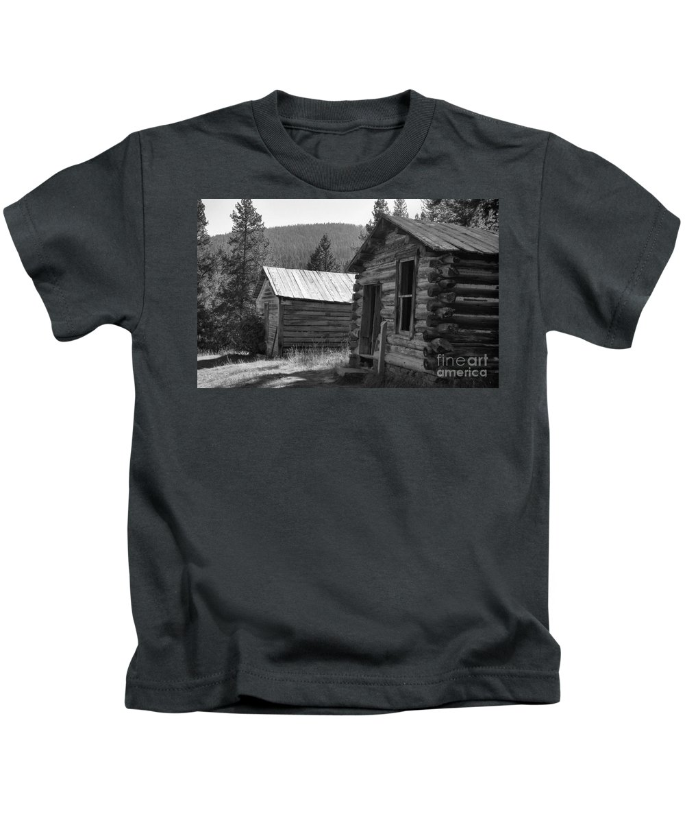 Abandoned Kids T-Shirt featuring the photograph Neighbors by Richard Rizzo