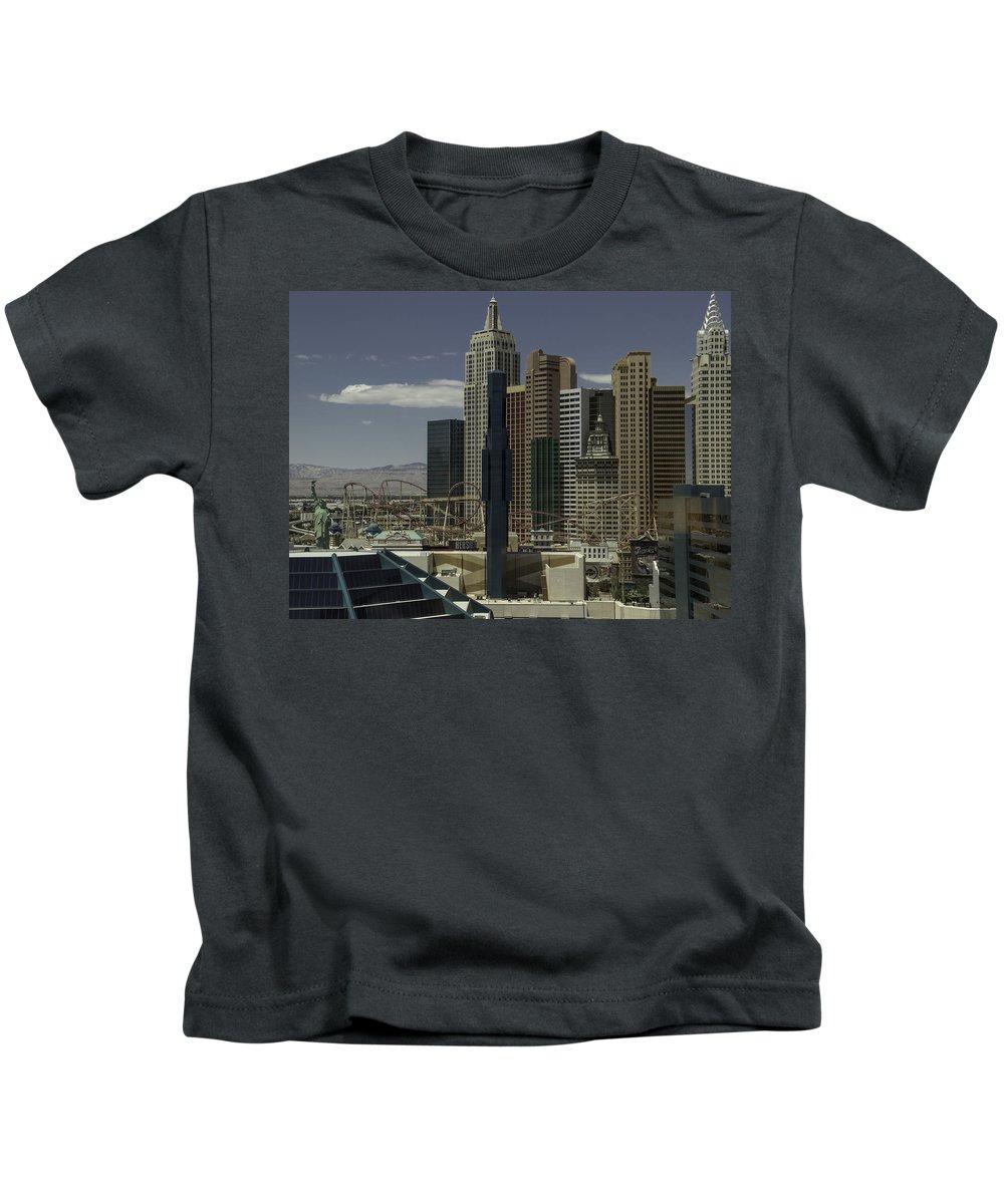 2015 Kids T-Shirt featuring the photograph New York New York View 2 by Teresa Mucha