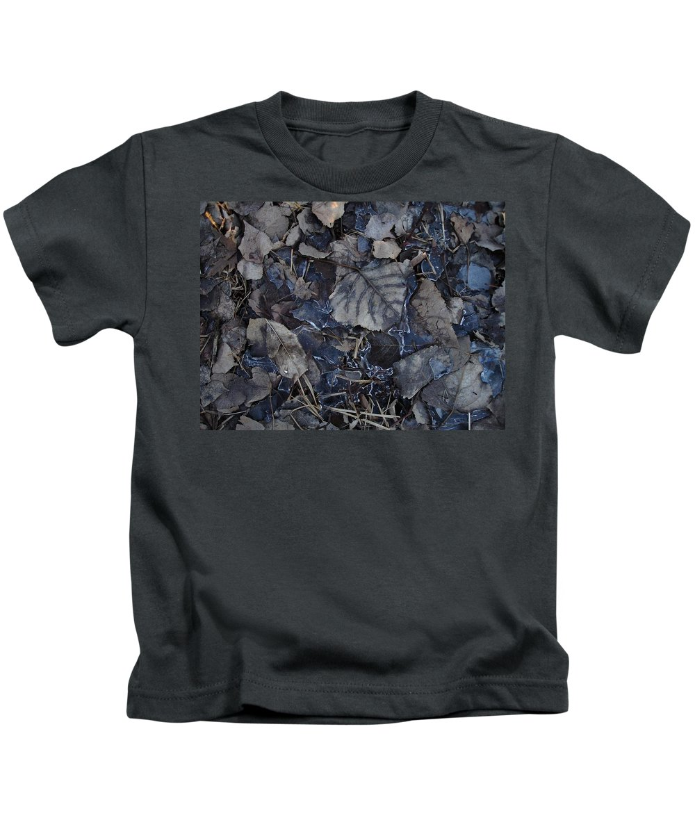 Kids T-Shirt featuring the photograph No Snow by Aiden Bishop