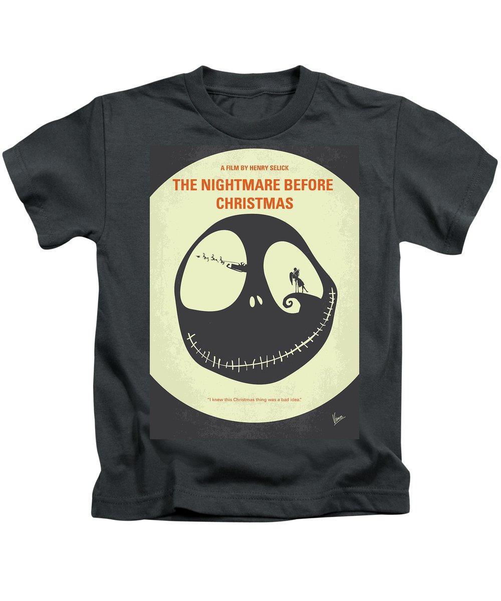 The Nightmare Before Christmas Kids T-Shirts | Fine Art America