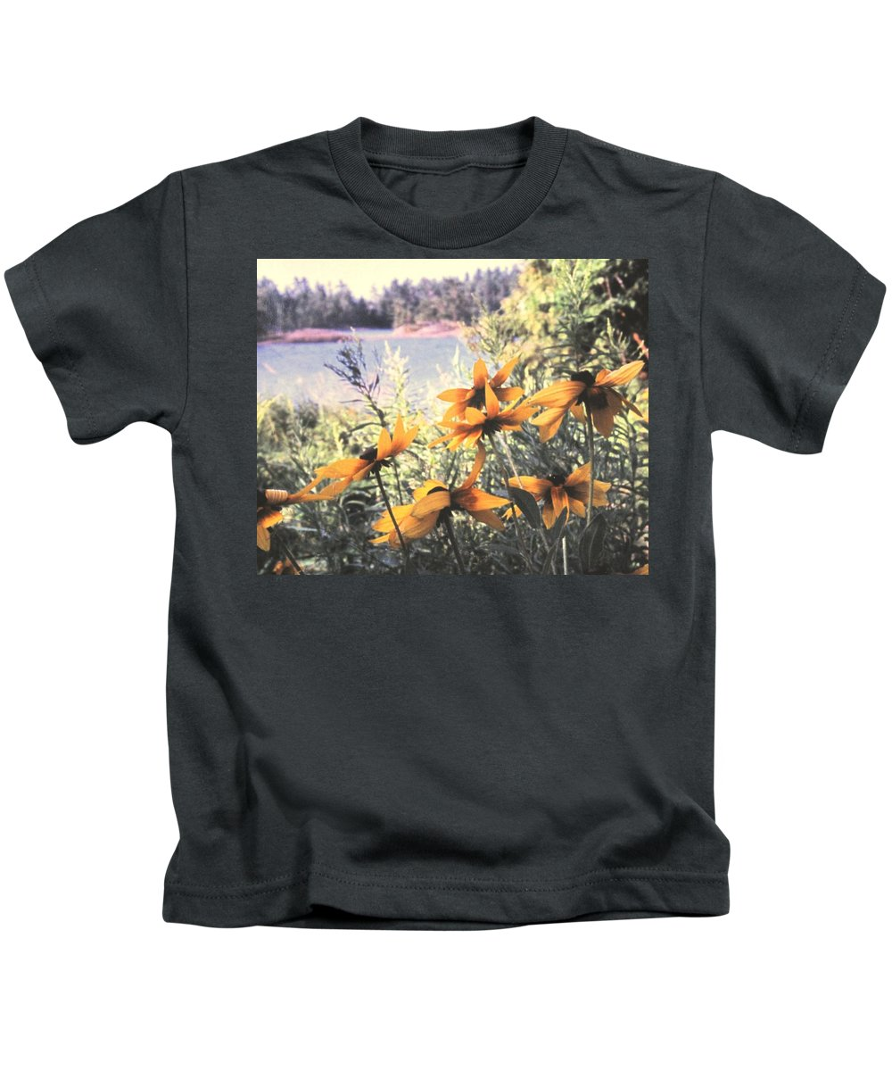 North Channel Kids T-Shirt featuring the photograph North Channel Beauties by Ian MacDonald
