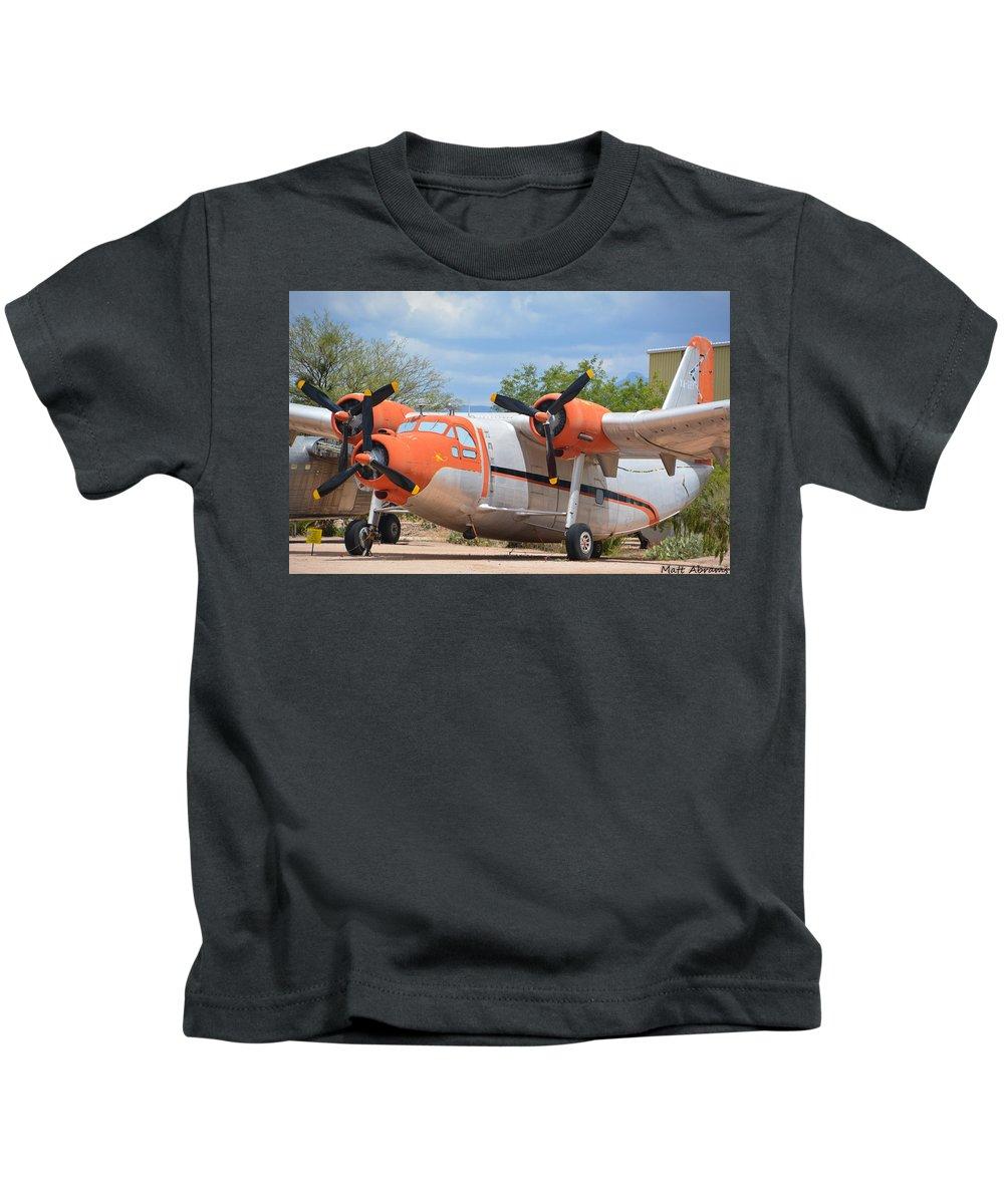 Northrop Kids T-Shirt featuring the photograph Northrop Raider by Matt Abrams