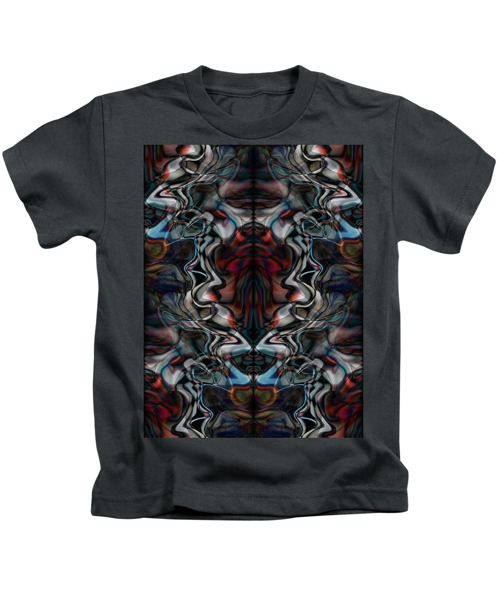 Deep Kids T-Shirt featuring the digital art Oa-1904 by Standa1one