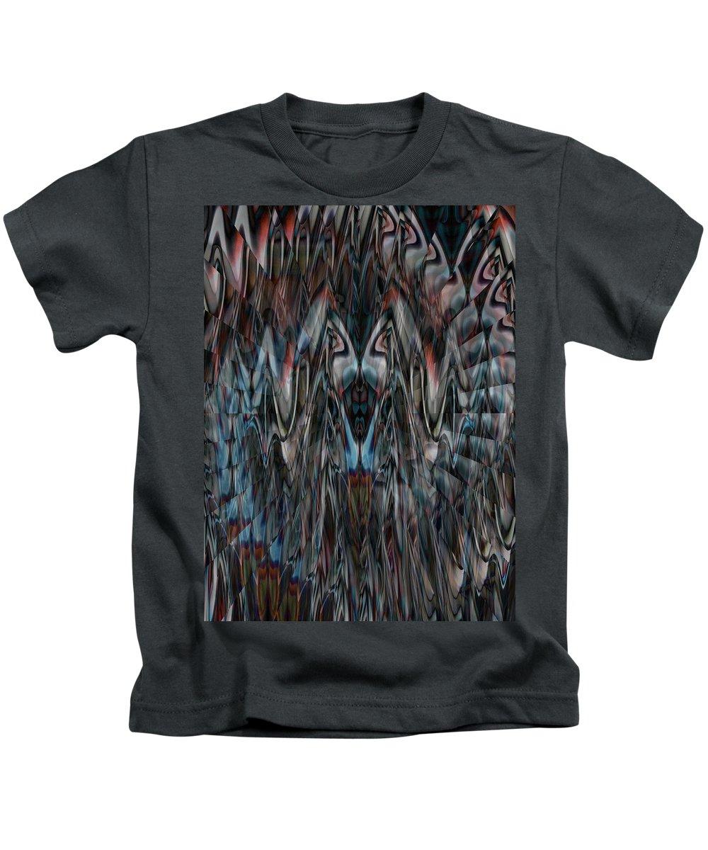Deep Kids T-Shirt featuring the digital art Oa-1905 by Standa1one