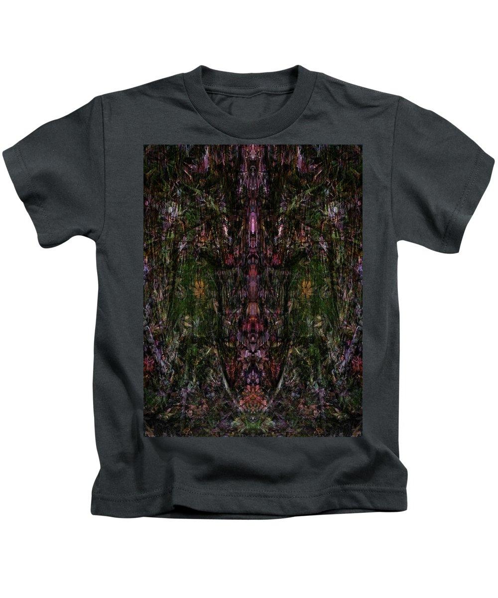 Deep Kids T-Shirt featuring the digital art Oa-1909 by Standa1one