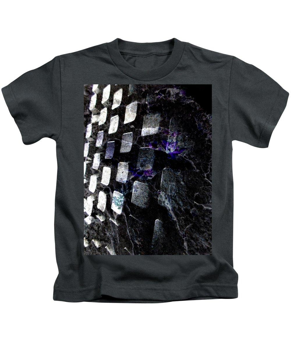 Deep Kids T-Shirt featuring the digital art Oa-1917 by Standa1one