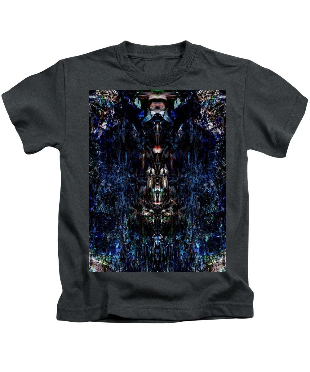 Deep Kids T-Shirt featuring the digital art Oa-1918 by Standa1one