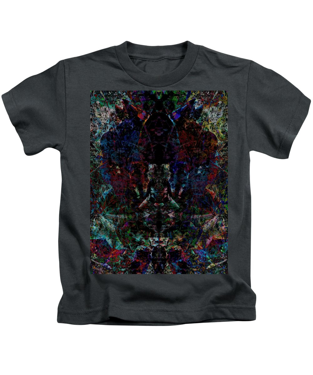 Deep Kids T-Shirt featuring the digital art Oa-1919 by Standa1one