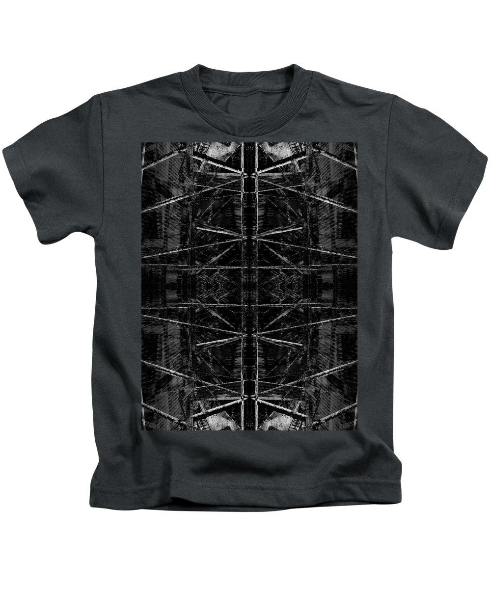 Deep Kids T-Shirt featuring the digital art Oa-1920 by Standa1one