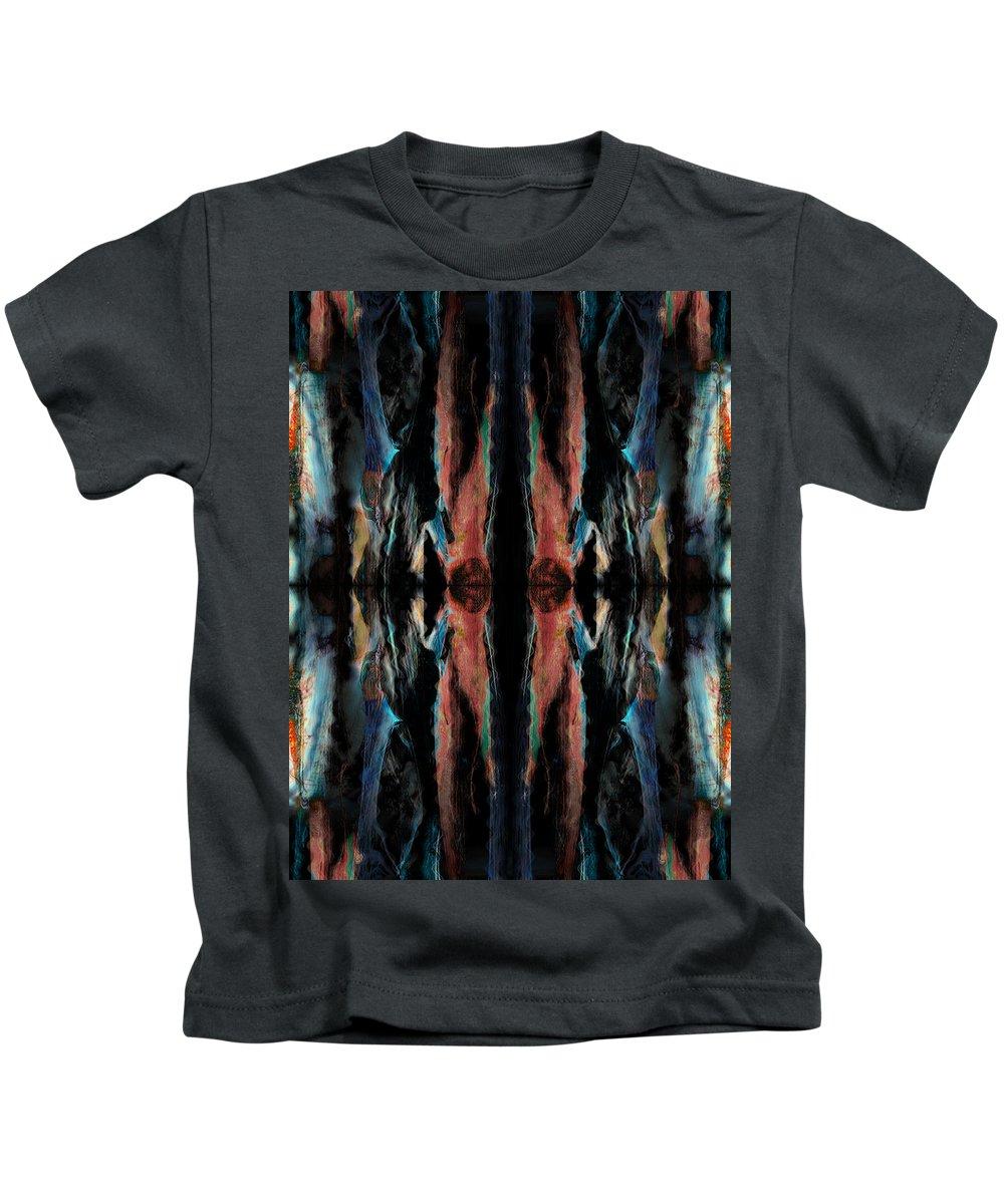 Deep Kids T-Shirt featuring the digital art Oa-1936 by Standa1one