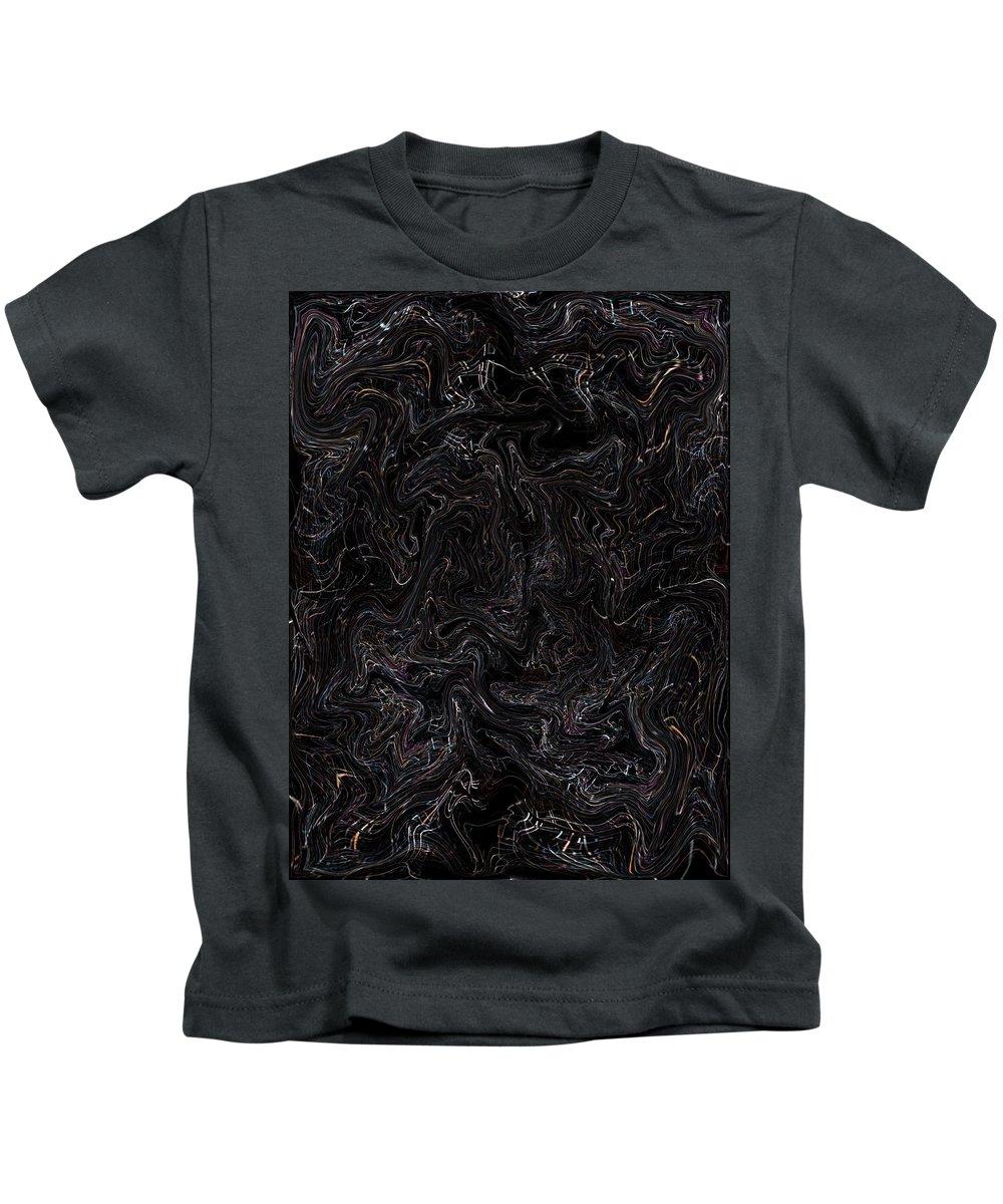 Deep Kids T-Shirt featuring the digital art Oa-1956 by Standa1one