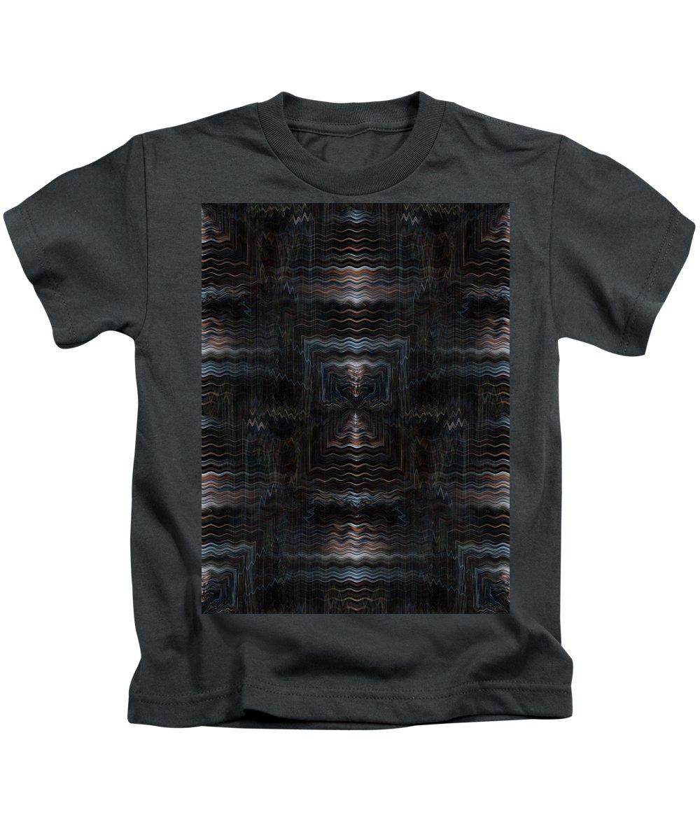 Deep Kids T-Shirt featuring the digital art Oa-1961 by Standa1one