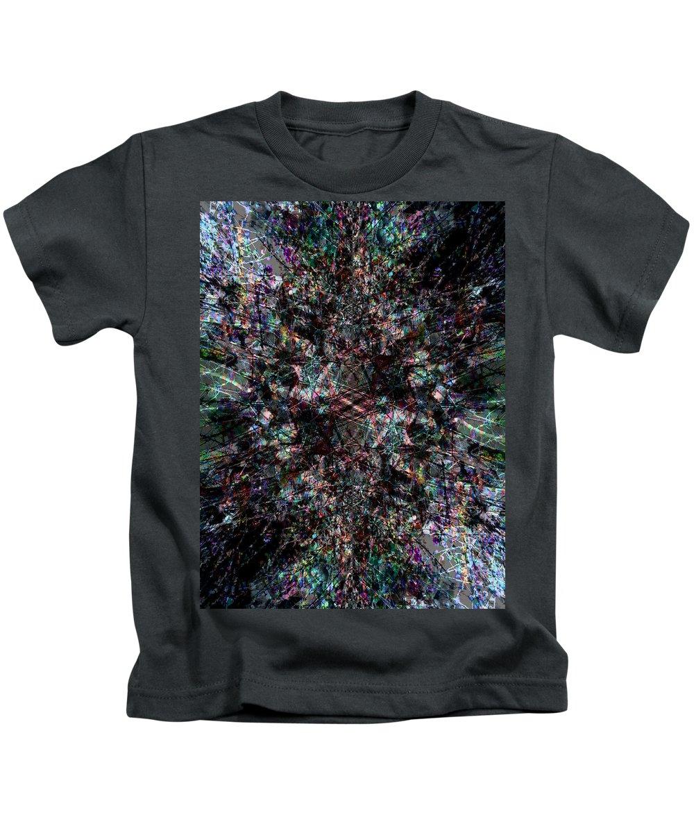 Deep Kids T-Shirt featuring the digital art Oa-1967 by Standa1one