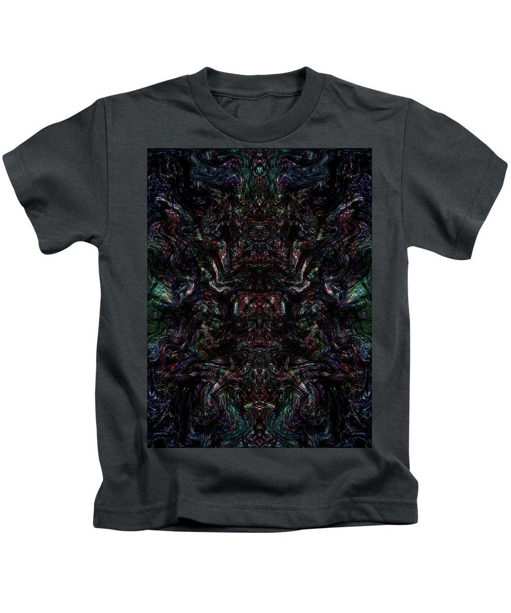 Deep Kids T-Shirt featuring the digital art Oa-1968 by Standa1one