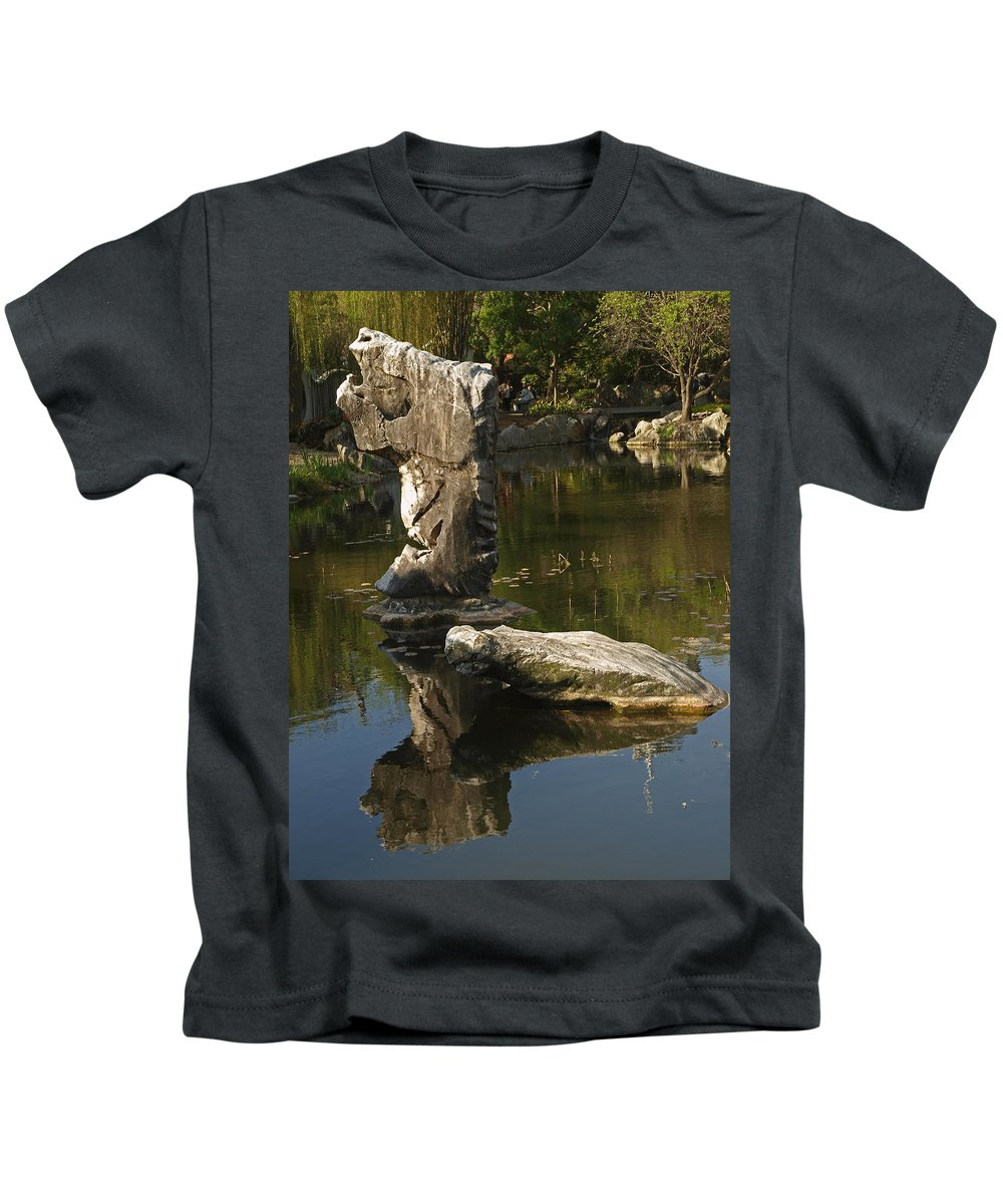 Gardens Kids T-Shirt featuring the photograph Oasis by Ajit Pillai