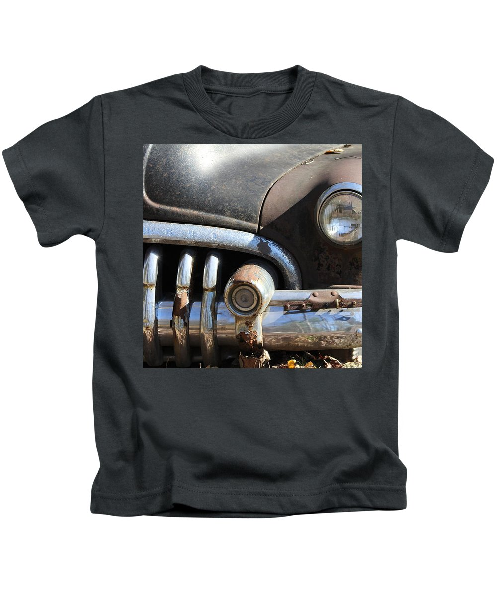 Old Kids T-Shirt featuring the mixed media Old Drive by Cynthia Conte