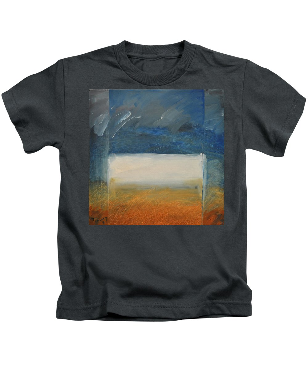 Rothko Kids T-Shirt featuring the painting Old Macrothko Had A Farm by Tim Nyberg