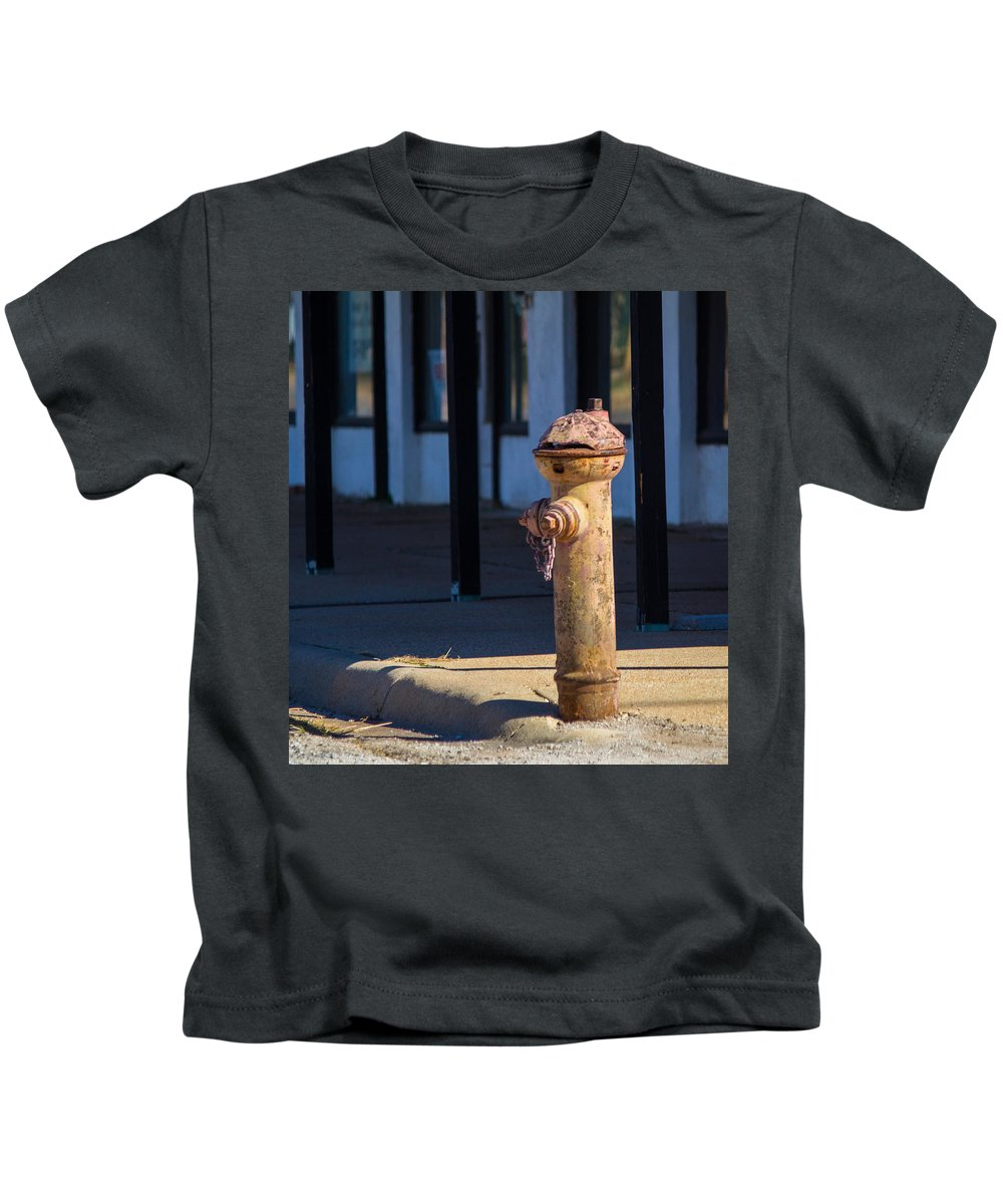 Hydrant Kids T-Shirt featuring the photograph Old Time Hydrant by Austin Photography