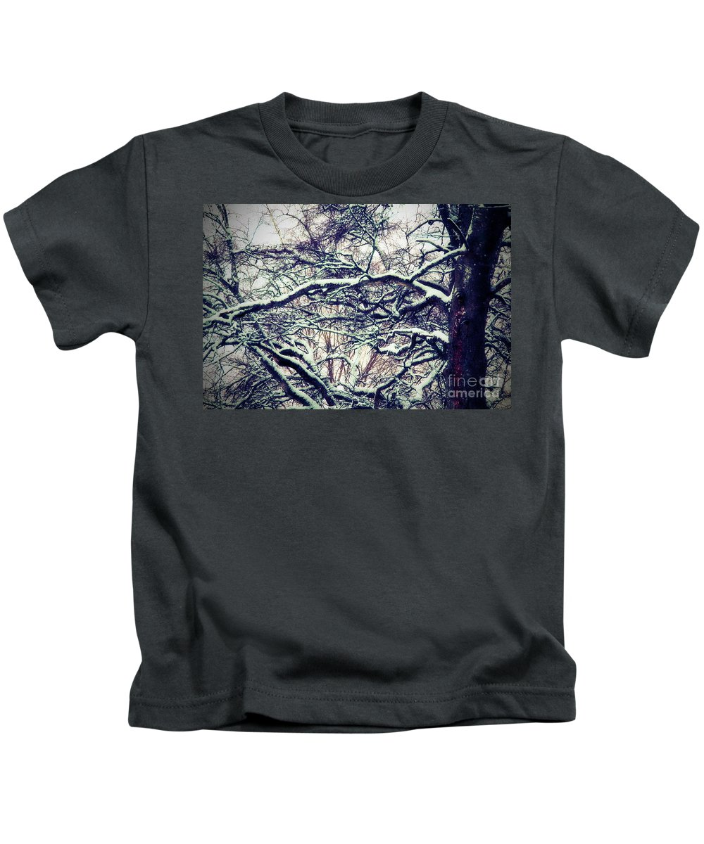 Birch Kids T-Shirt featuring the photograph Old Tree 3 by Esko Lindell