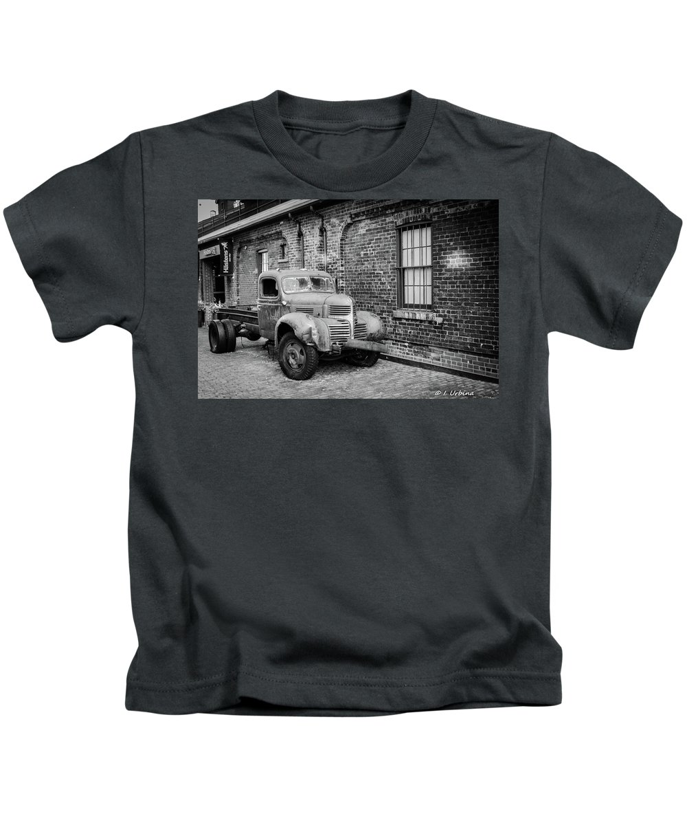 Truck Kids T-Shirt featuring the photograph Old Truck by Ivan Urbina
