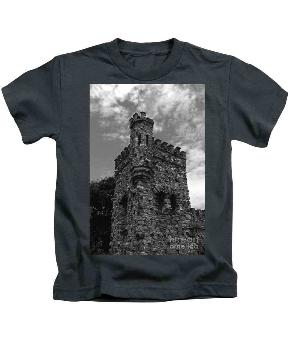 Castle Kids T-Shirt featuring the photograph Once Upon A Time by Richard Rizzo