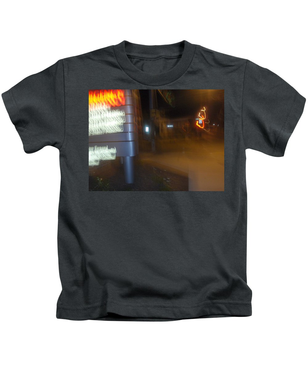 Photograph Kids T-Shirt featuring the photograph One Way by Thomas Valentine