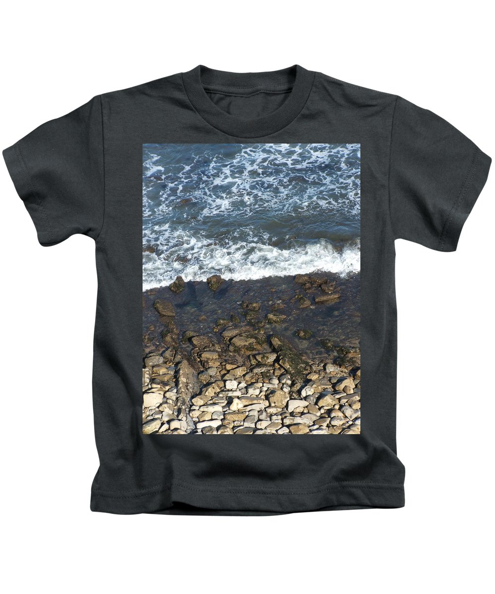 Ocean Kids T-Shirt featuring the photograph Opponents by Shari Chavira