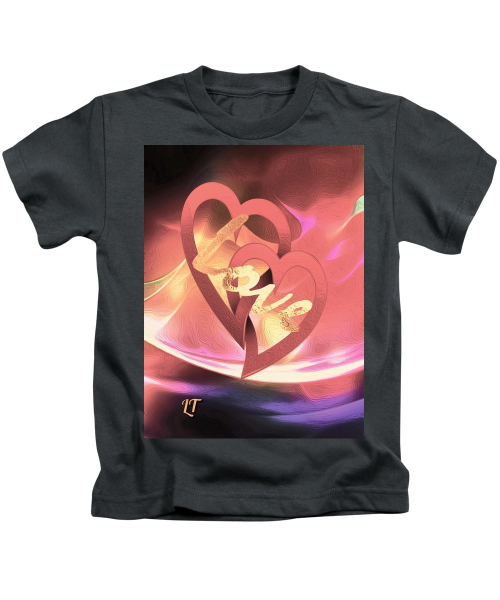 Love Kids T-Shirt featuring the photograph Our Love by Linda Todd