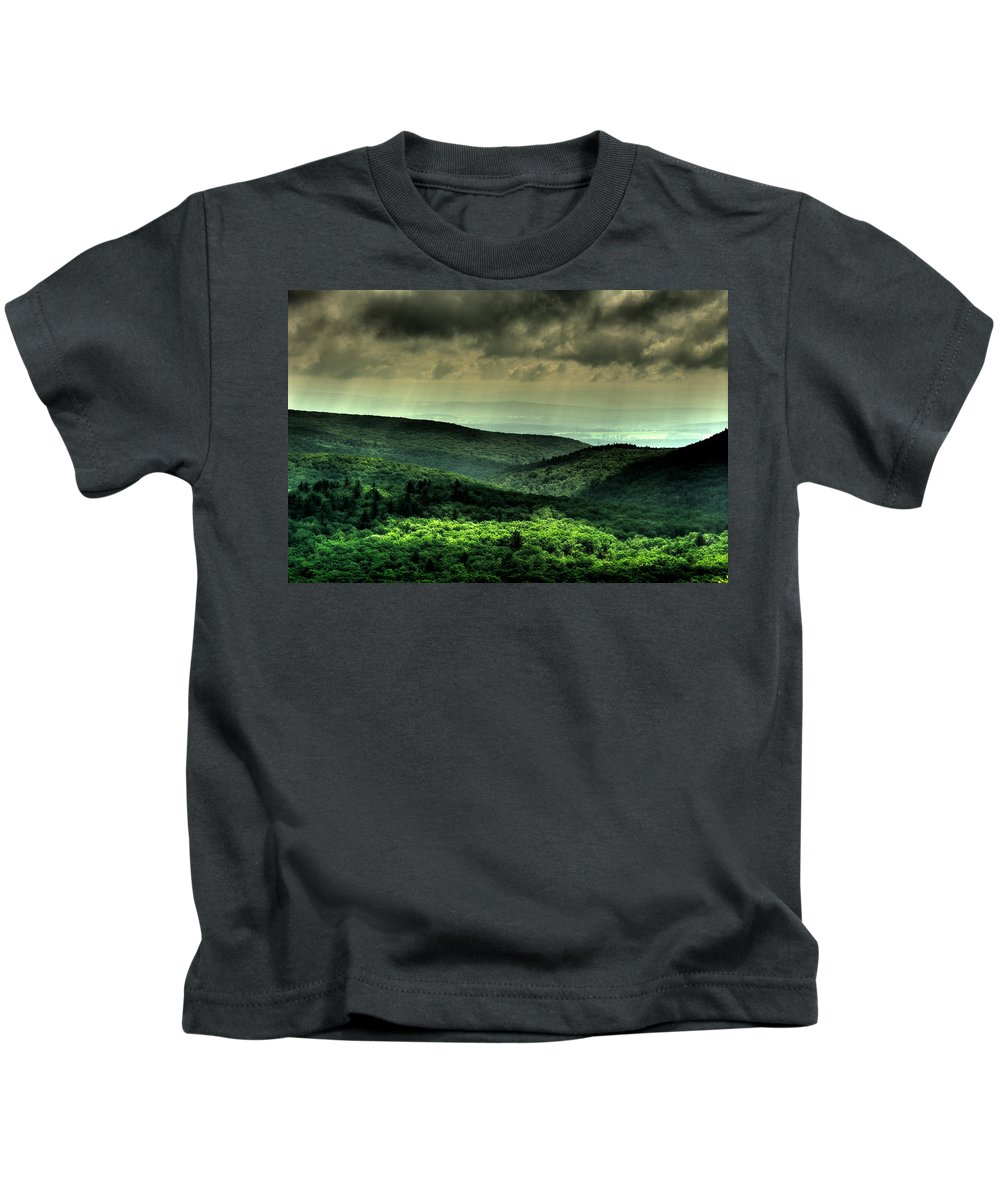 Forest Kids T-Shirt featuring the photograph Over Shadowing by Scott Wyatt
