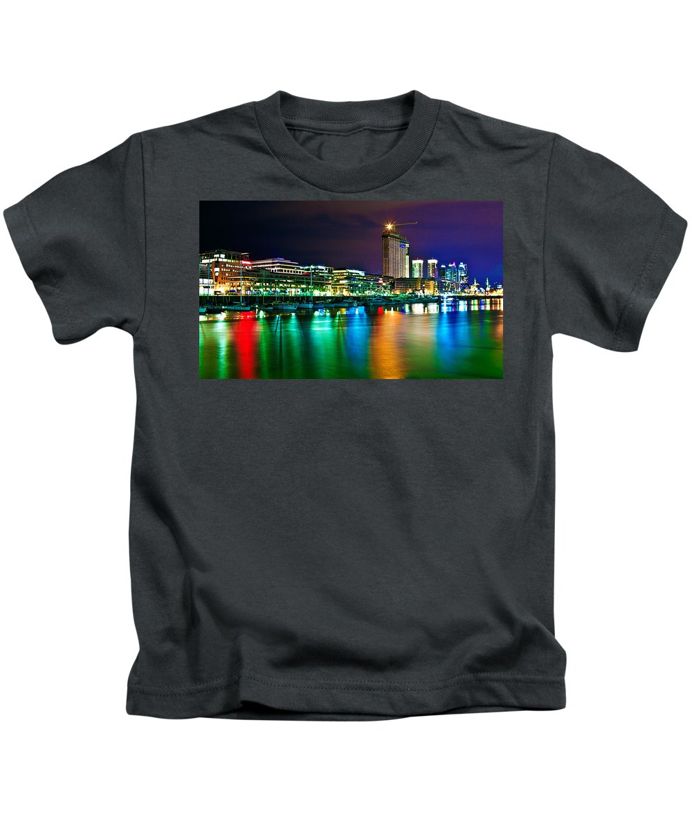 Buenos Kids T-Shirt featuring the photograph Over The Rainbow by Francisco Colon