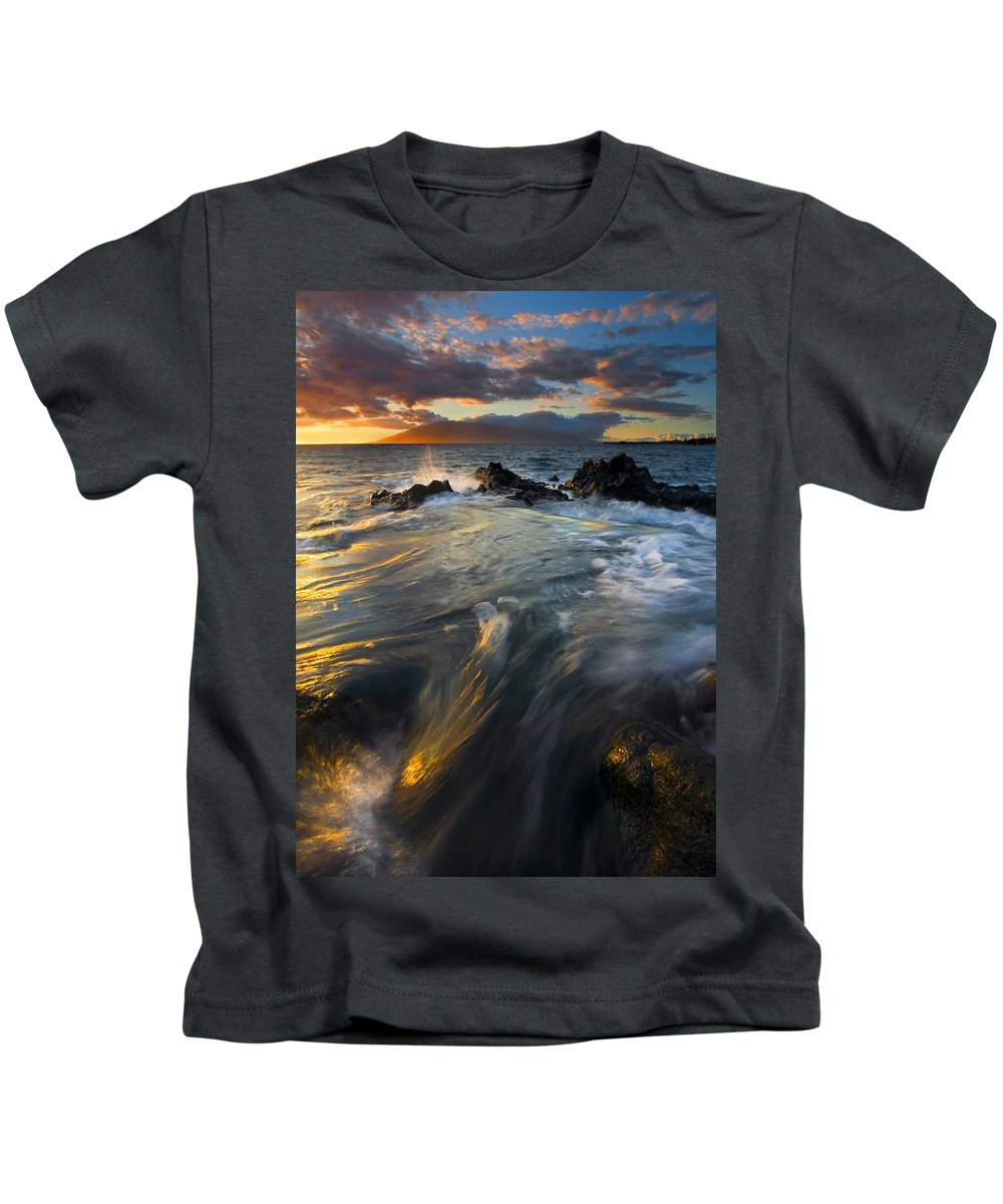 Cauldron Kids T-Shirt featuring the photograph Overflow by Mike Dawson