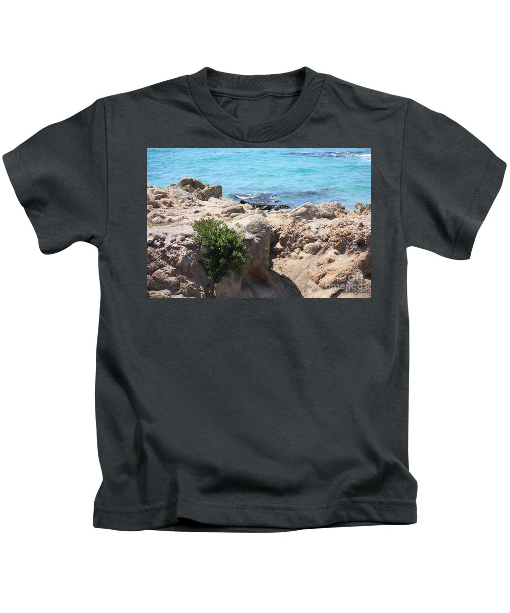 California Kids T-Shirt featuring the photograph Pacific Blue by Carol Groenen