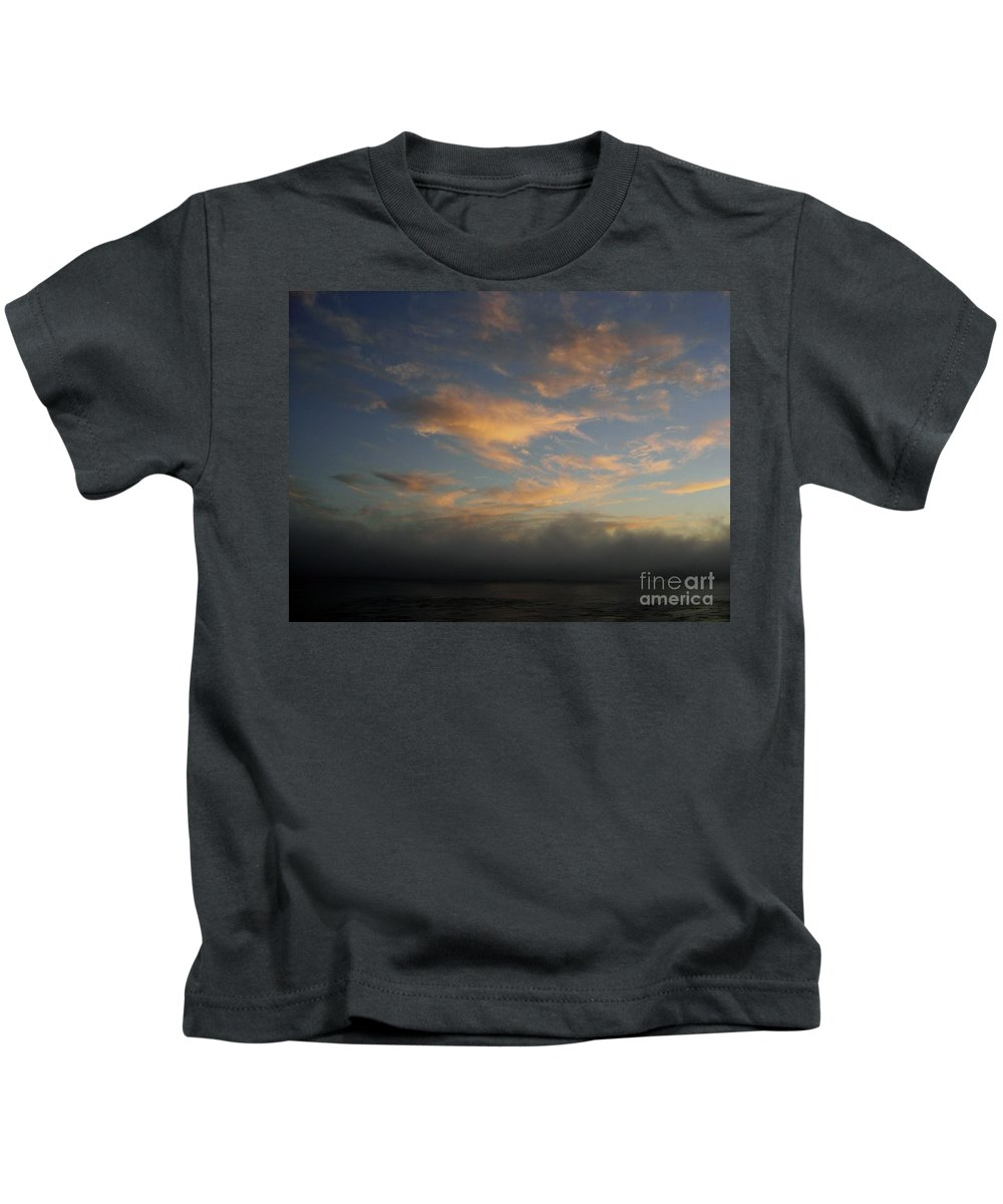 Ocean Kids T-Shirt featuring the photograph Pacific Grove Sunrise by Mary Rogers