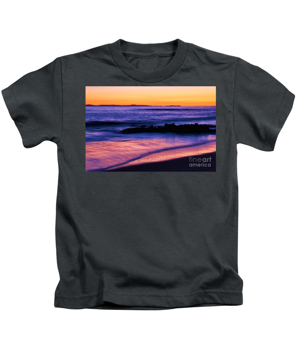 Kids T-Shirt featuring the photograph Painting The Ocean by Mariola Bitner