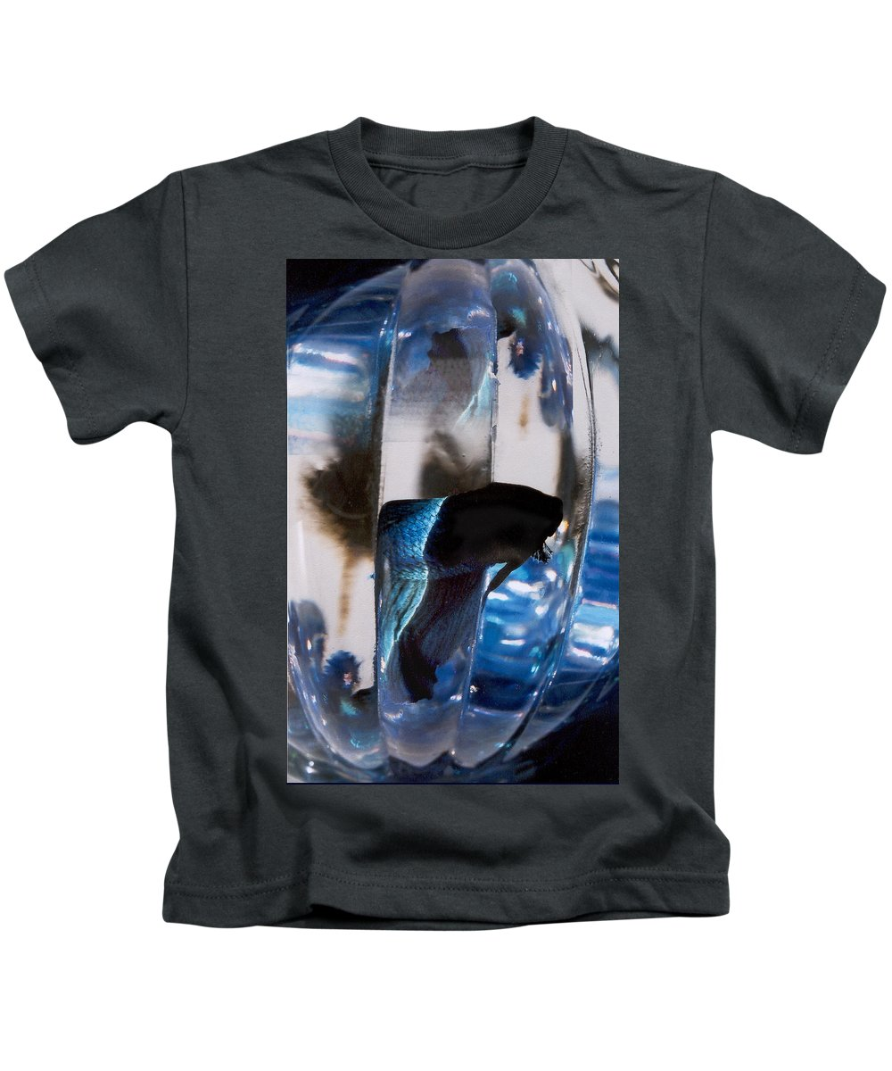 Abstract Kids T-Shirt featuring the photograph panel three from Swirl by Steve Karol