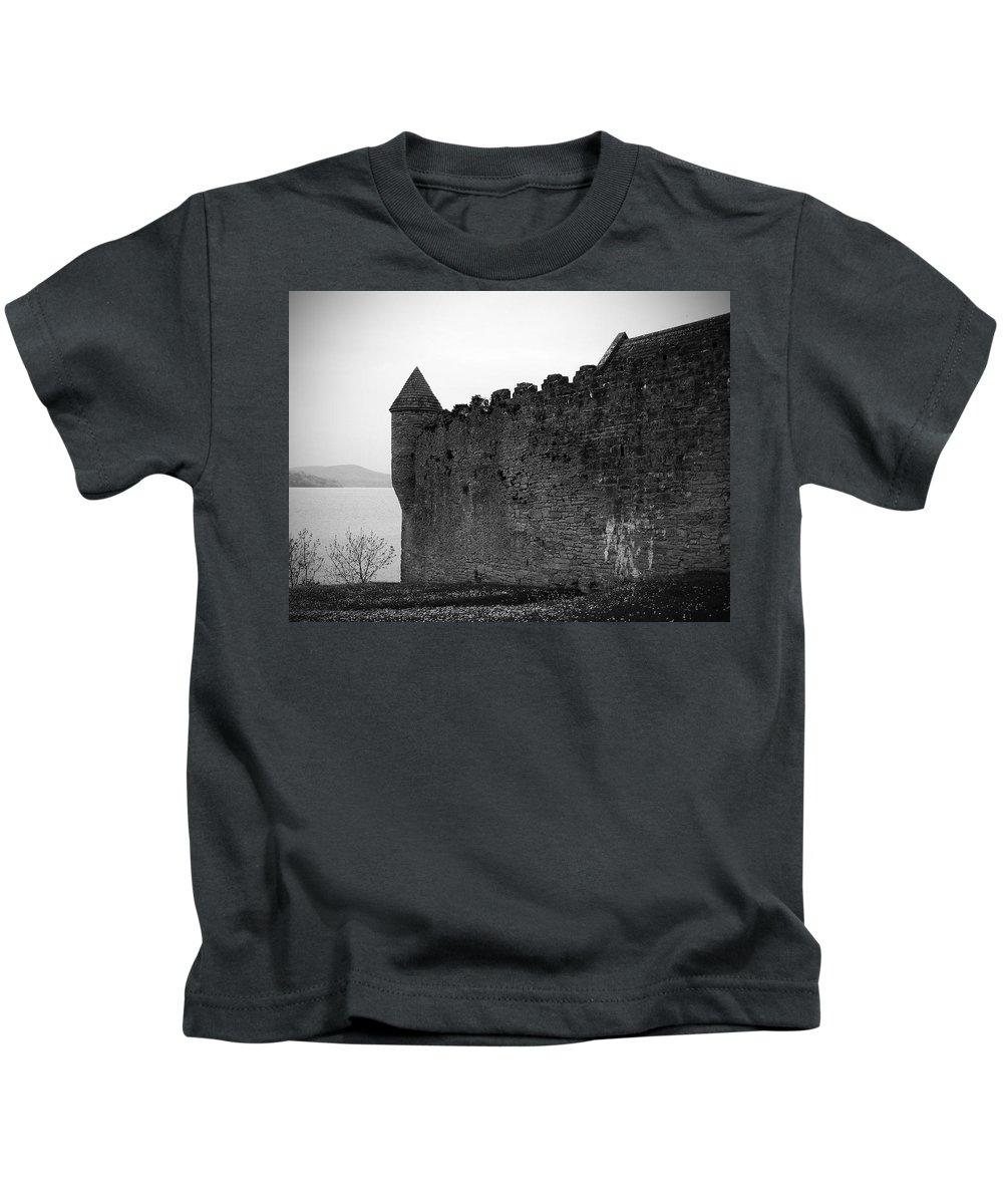 Ireland Kids T-Shirt featuring the photograph Parkes Castle County Leitrim Ireland by Teresa Mucha