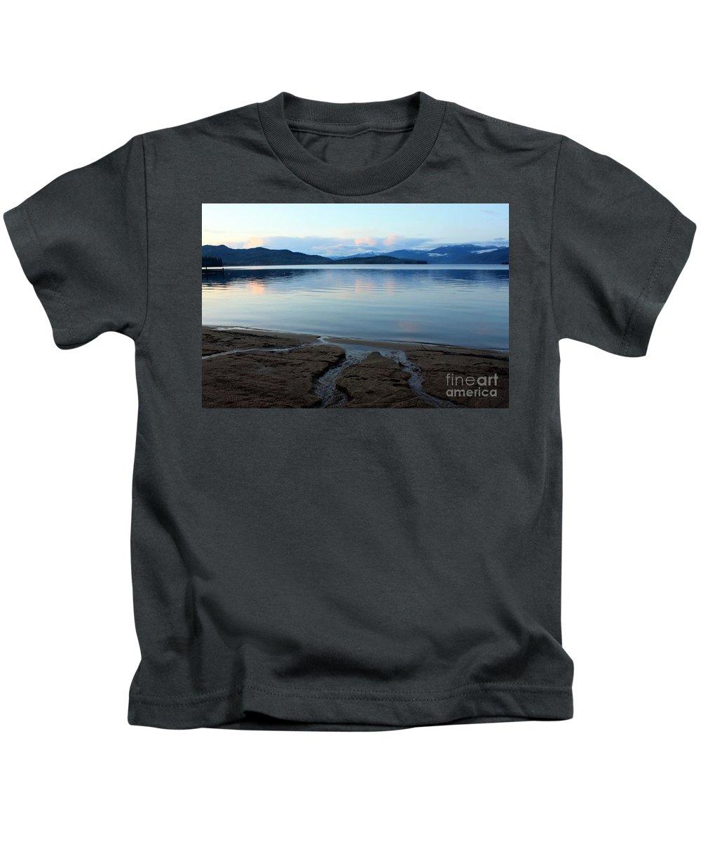 Beach Kids T-Shirt featuring the photograph Peaceful Priest Lake by Carol Groenen