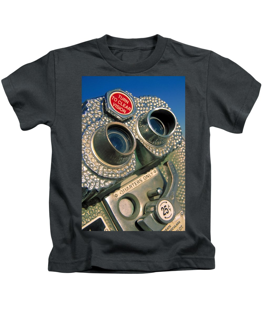 View Kids T-Shirt featuring the photograph Peep Show by Skip Hunt