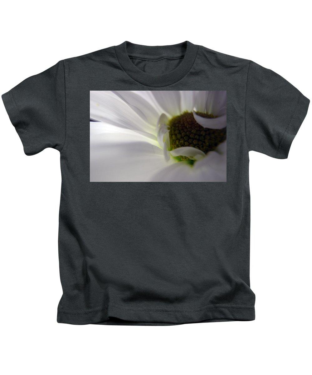 Flowers Kids T-Shirt featuring the photograph Petal Pillows by Samantha Burrow