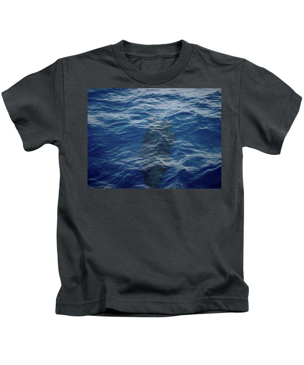 Valasretki Kids T-Shirt featuring the photograph Pilot Whale 8 by Jouko Lehto
