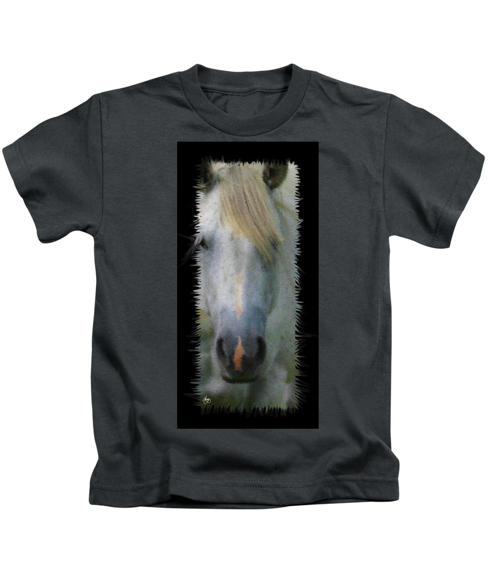 Blonde Kids T-Shirt featuring the photograph Pink On Blonde by Wayne King
