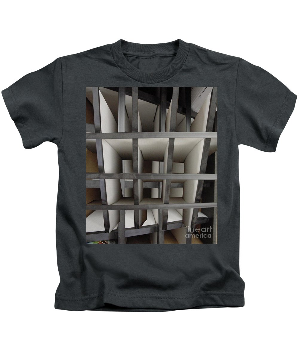 Perspective Kids T-Shirt featuring the digital art Plain Perspective by Ron Bissett