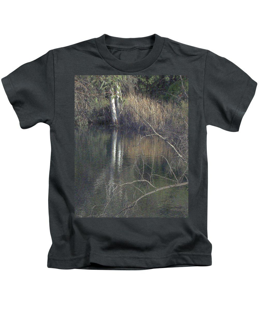 Pond Kids T-Shirt featuring the photograph Pond In The Hollow by Randall Thomas Stone