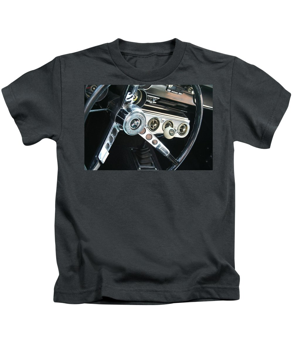 Kids T-Shirt featuring the photograph Pony Ride by Stephen Orenstein