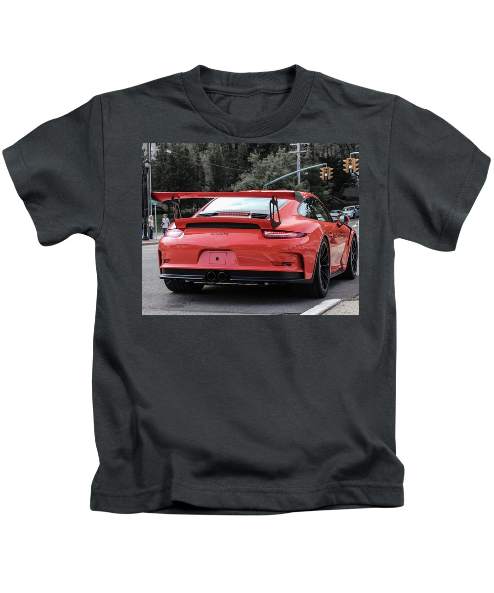Porsche Kids T-Shirt featuring the photograph Porsche Gt3 Rs by Tyler Urtiaga