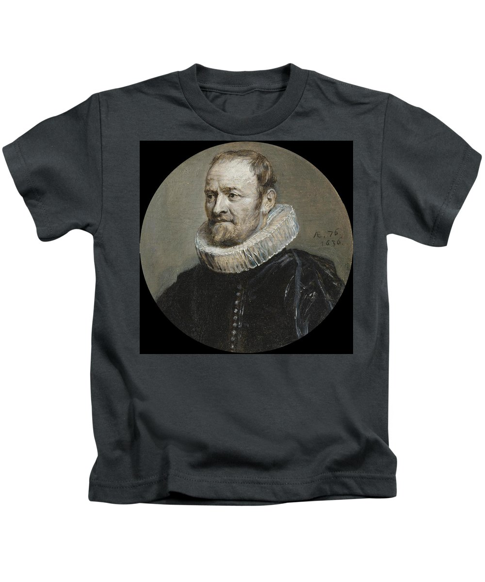 Anthony Van Dyck Kids T-Shirt featuring the painting Portrait Of Nicholas Rockox by Anthony van Dyck