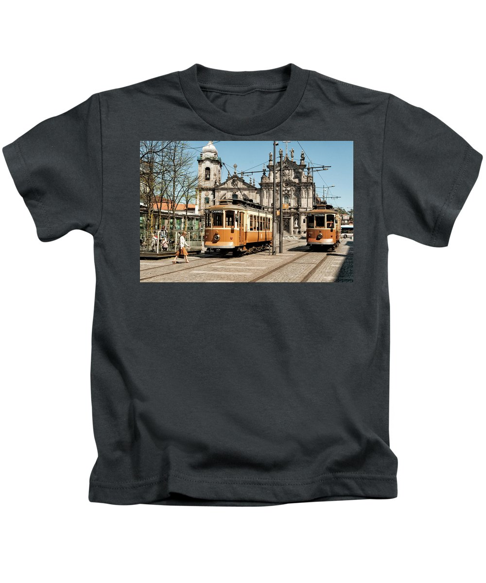 Kids T-Shirt featuring the photograph Portugal 36 by Vessela Banzourkova
