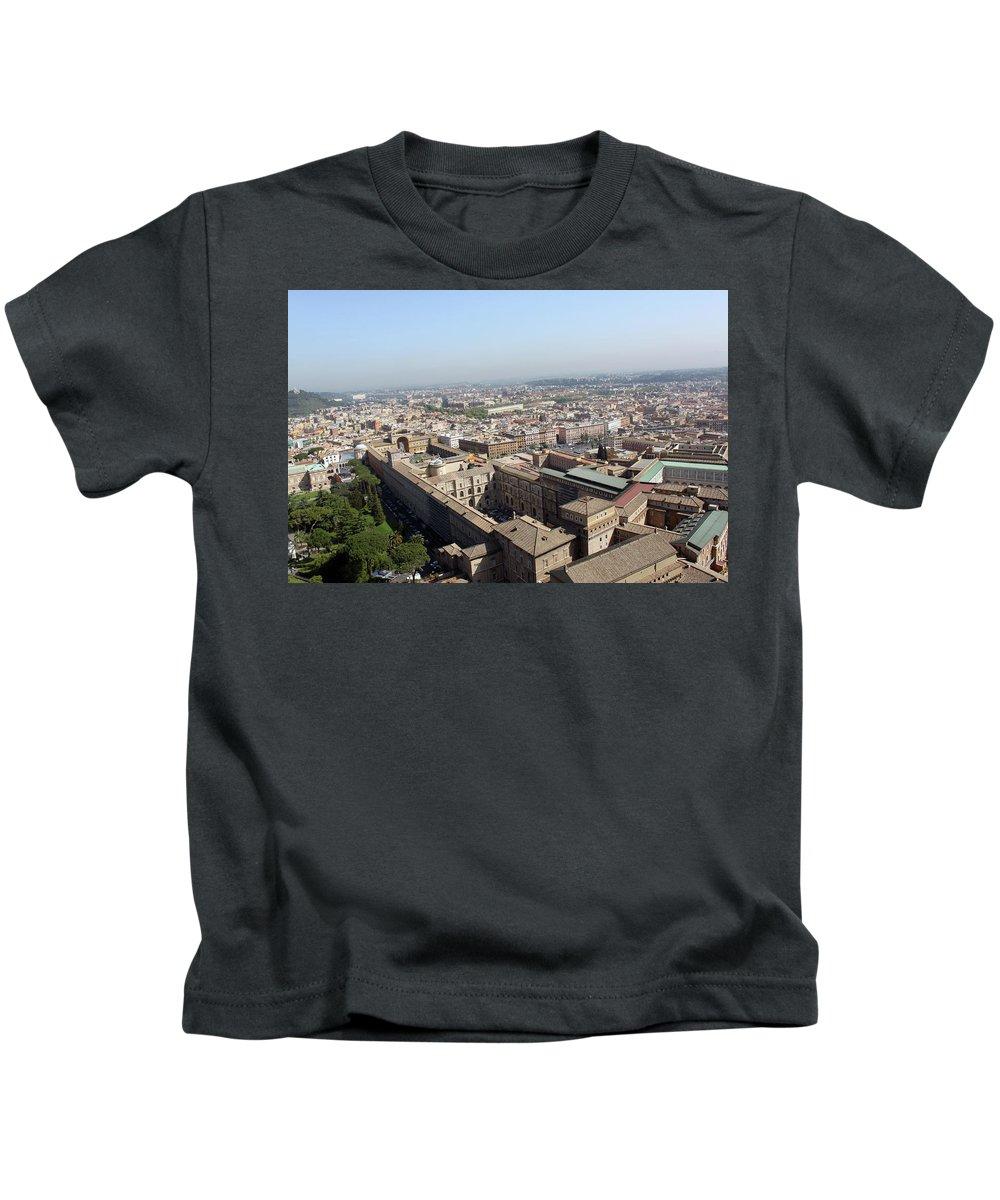 Rome Kids T-Shirt featuring the photograph Prati by Munir Alawi
